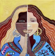 Diversity Paintings - Harmony2 by Alima Newton
