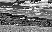 West Virginia Photos - Harnessing the WInd monochrome by Steve Harrington