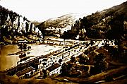 Slavery Digital Art Metal Prints - Harpers Ferry Metal Print by Bill Cannon