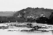 Rapids Digital Art Framed Prints - Harpers Ferry from across the Potomac Framed Print by Bill Cannon