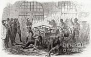 Slavery Prints - Harpers Ferry Insurrection, 1859 Print by Photo Researchers