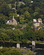 Harpers Ferry Photos - Harpers Ferry West Virginia On the Banks of the Shenandoah and Potomac Rivers by Brendan Reals