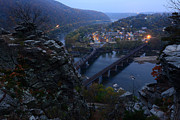Ferry Photos - Harpers Ferry WV by Bernard Chen