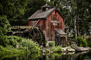Grain Mill Framed Prints - Harpers Mill Framed Print by Heather Applegate