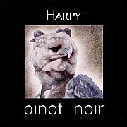 Label Framed Prints - Harpy-pinot noir... Framed Print by Will Bullas