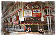 Watercolor Resort Posters - Harrahs 1994 - IMPRESSIONS Poster by Ricky Barnard
