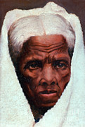 Abolitionist Framed Prints - Harriet Tubman, African-american Framed Print by Photo Researchers