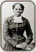 Abolitionist Framed Prints - Harriet Tubman, American Abolitionist Framed Print by Photo Researchers