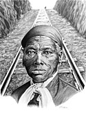 Harriet Tubman Prints - Harriet Tubman Print by Elizabeth Scism