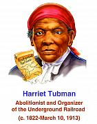 Obama Pastels Posters - Harriet Tubman Poster by Valerian Ruppert