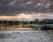Idaho Photos - Harriman Winter by Leland Howard