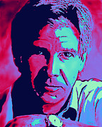 Harrison Mixed Media Prints - Harrison by Reb Print by Reb Benno