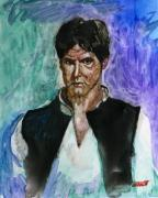 Harrison Painting Originals - Harrison Ford by Robert Bissett