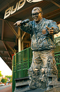 Chicago Cubs Stadium Posters - Harry Caray Poster by Anthony Citro