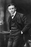 Illusionists Posters - Harry Houdini 1874-1926, American Poster by Everett
