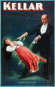 Levitation Posters - Harry Kellar (1849-1922) Poster by Granger