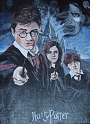 Hermione Paintings - Harry Potter by Julie Cranfill