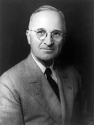 Leaders Photo Posters - Harry S Truman - President of the United States of America Poster by International  Images
