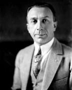 Harry Warner, 1881-1958, Co-founder Print by Everett
