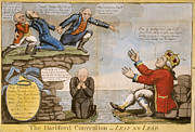 Kneeling Prints - HARTFORD CONVENTION, c1814 Print by Granger