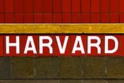 Mbta Prints - Harvard Square Station Print by Jannis Werner