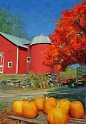 Pumpkins Paintings - Harvest by Earl Jackson