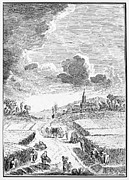 18th Century Prints - HARVESTING, 18th CENTURY Print by Granger