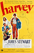 1950 Movies Prints - Harvey, Victoria Horne, Jesse White Print by Everett