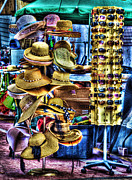 Vendors Prints - Hats Off To You Print by Arnie Goldstein