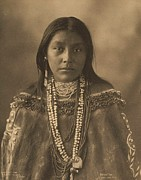 Chiricahua Apache Framed Prints - Hattie  Tom  Apache Framed Print by Pg Reproductions