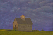 Cornfield Prints - Haunted barn Print by Jim Wright