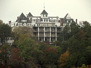 Eureka Springs Prints - Haunted Hotel Print by CGHepburn Scenic Photos