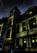 Haunted House  Digital Art - Haunted House by Mark Sellers