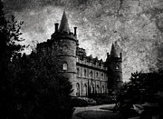 Creepy Castle Framed Prints - Haunted Framed Print by Laura Melis