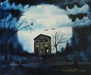 Haunted Mansion 2008 Print by Shawna Burkhart