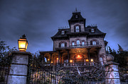 Haunted House Art - Haunted Mansion by Ryan Wyckoff