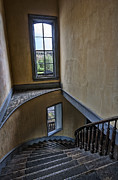 Bannack State Park Photos - Haunted Meade Hotel Grand Staircase - Bannack Ghost Town - Montana by Daniel Hagerman