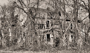 Haunted House Photo Acrylic Prints - Haunting in DelMarVa Acrylic Print by JC Findley