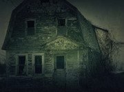 Haunted House Photo Prints - Haunting Print by Scott Hovind