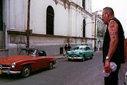 Mercedes Prints - Havana 4 Print by Andrew Fare