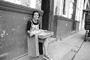 Cuba Art - Havana Cuba Woman Selling Pastries On Street by Michael Dubiner
