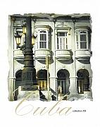 Havana Framed Prints - Havana Facade Framed Print by Bob Salo