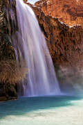Moss Green Prints - HavasuFalls III Print by Scotts Scapes