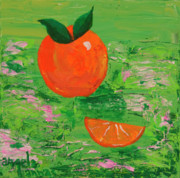 Tangy Painting Prints - Have a Slice Print by Angela Annas