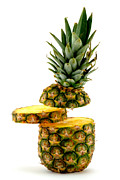 Pineapple Photo Prints - Have a slice Print by Gert Lavsen