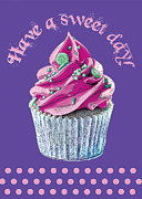 Frosting Digital Art Posters - Have a sweet day Poster by Susie Bell