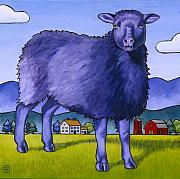 Sheep Prints - Have You Any Wool Print by Stacey Neumiller