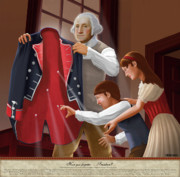 American War Of Independence Prints - Have You Forgotten Providence Print by Brett H Runion