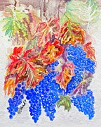 Turning Leaves Prints - Havest Time Print by Susan Lee Clark