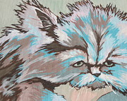 Cats Originals - Having a Bad Hair Day by Sandy Tracey